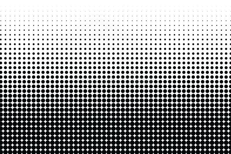 Textura monocromática punteada tono medio abstracto Fondo del vector Contexto simple moderno para los carteles, sitios, negocio stock de ilustración