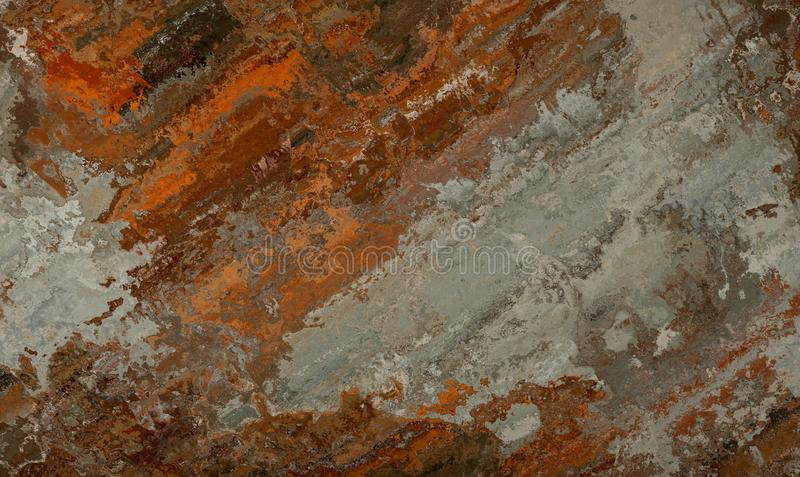 Textura multicolorido da oxidação imagens de stock