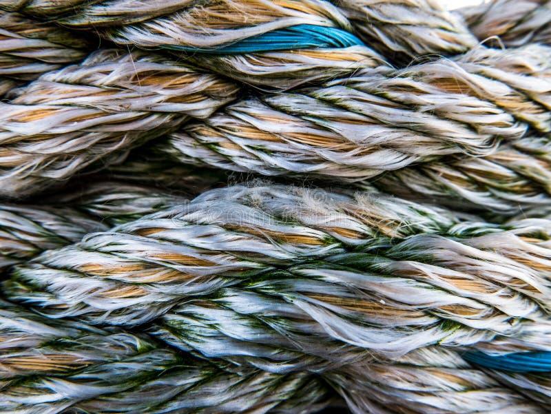 Textura náutica de la cuerda imágenes de archivo libres de regalías