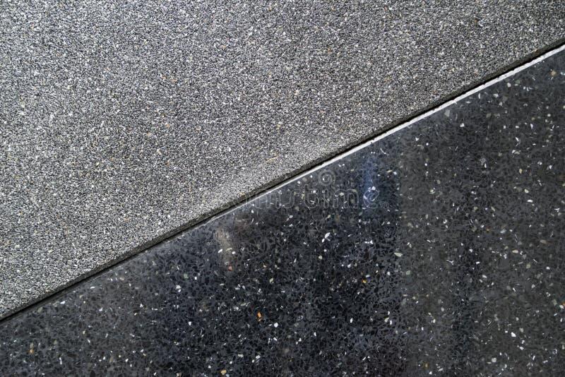 Textura natural del arena de mar, superficie áspera de la textura del aggre expuesto foto de archivo