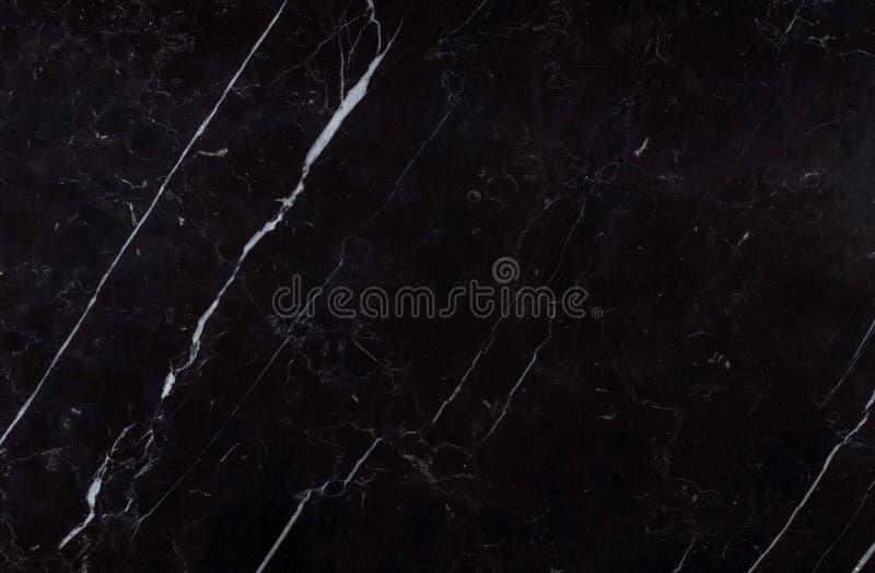 Textura natural do mármore do preto de Nero Marquina do espanhol foto de stock