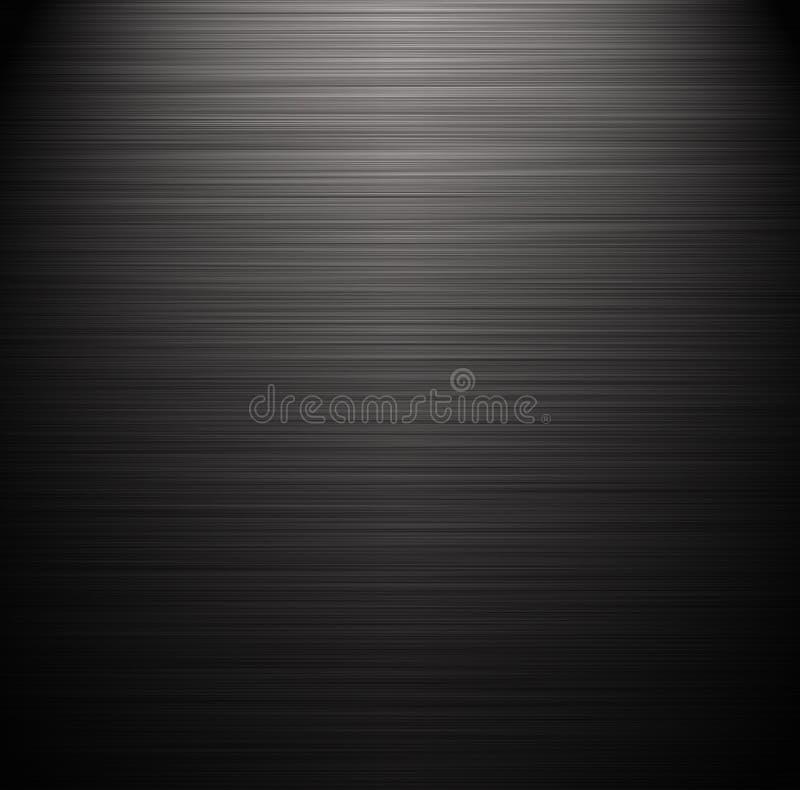 Textura negra stock de ilustración