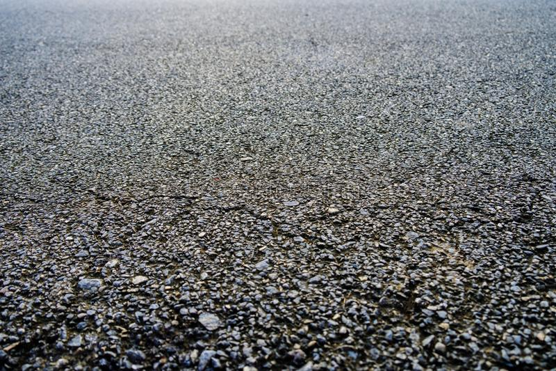Textura negra del asfalto Carretera de asfalto backg de piedra de la textura del asfalto foto de archivo libre de regalías