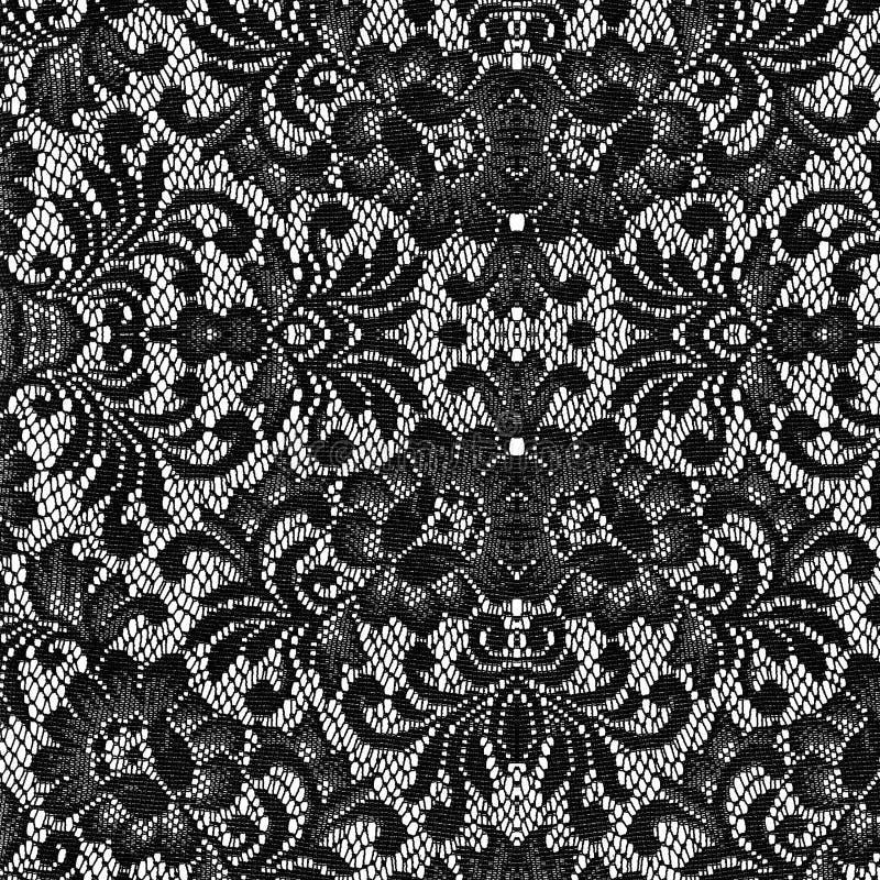 Textura negra del cordón fotos de archivo libres de regalías