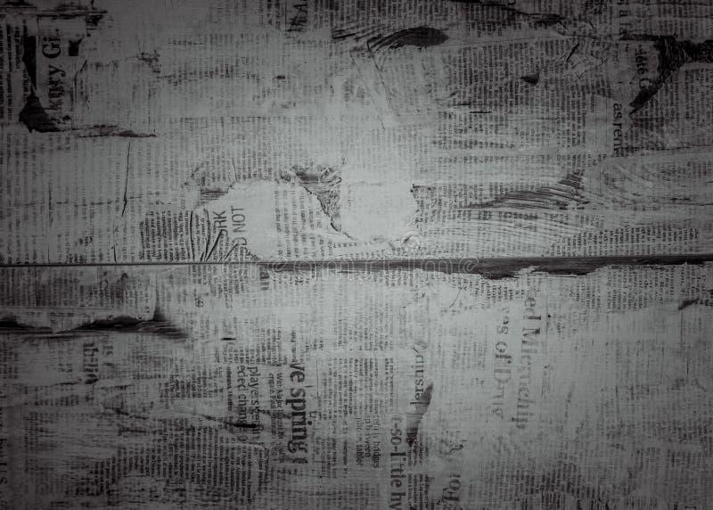 Textura negra del periódico del fondo foto de archivo libre de regalías