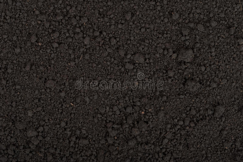 Textura negra del suelo foto de archivo libre de regalías