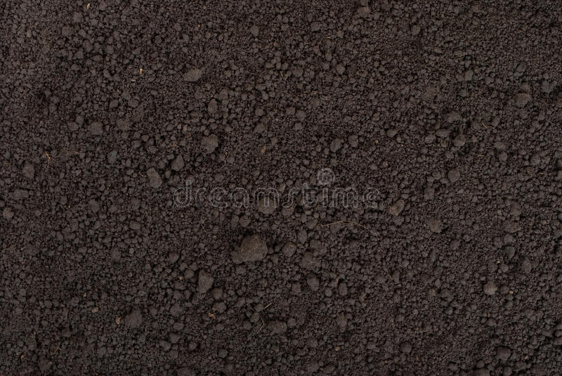 Textura negra del suelo imagen de archivo