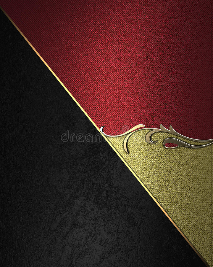 Textura negra y roja con los modelos Elemento para el diseño Plantilla para el diseño libre illustration