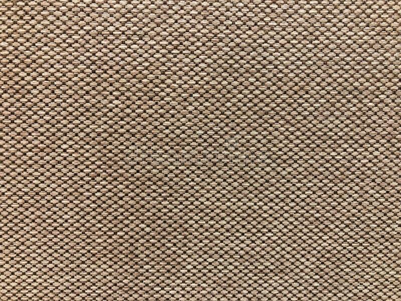 Textura no teste padrão da tela de Brown fotos de stock