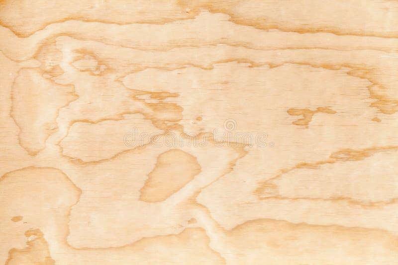 Textura nova do fundo da madeira compensada do close up fotografia de stock royalty free