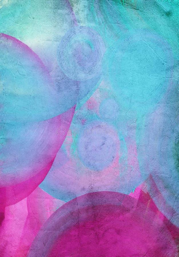 Textura o fondo digitaly creada del Grunge libre illustration
