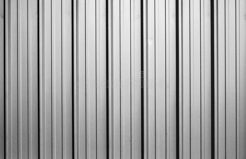 Textura ondulada da folha de metal ilustração do vetor
