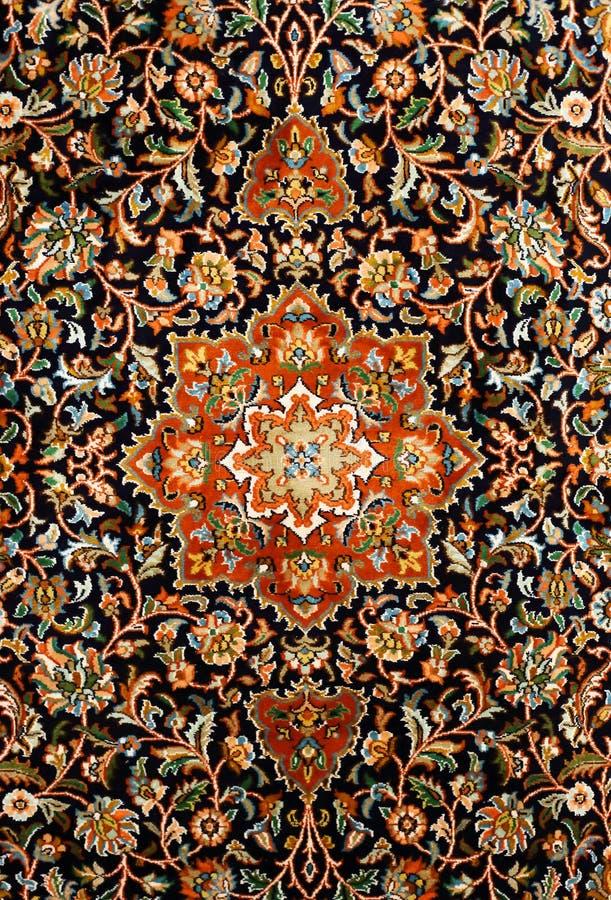 Textura oriental de la alfombra persa foto de archivo