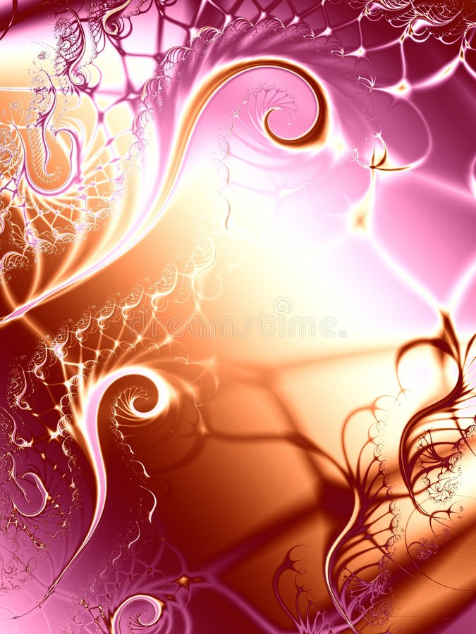 Textura original dos redemoinhos das videiras ilustração stock