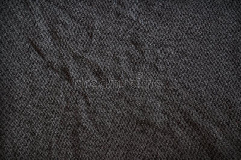 Textura oscura de la tela fotografía de archivo