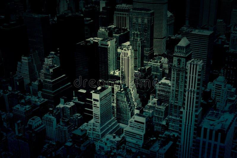 Textura oscura del fondo de los edificios de la ciudad imagen de archivo libre de regalías