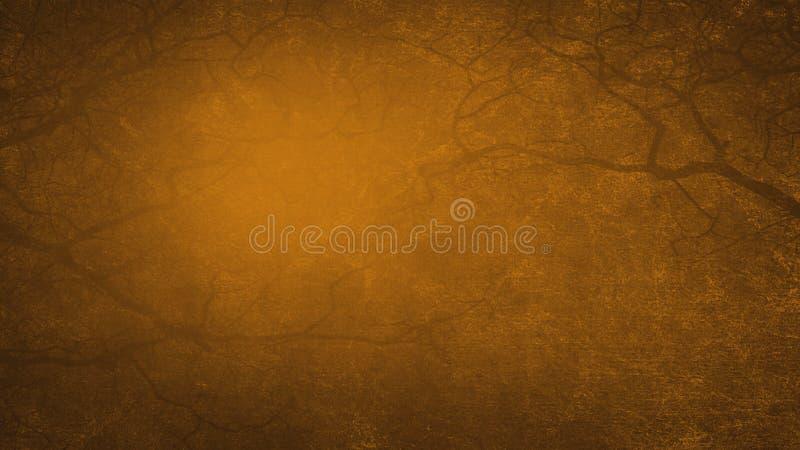 Textura oscura del fondo del grunge de Brown vieja ilustración del vector