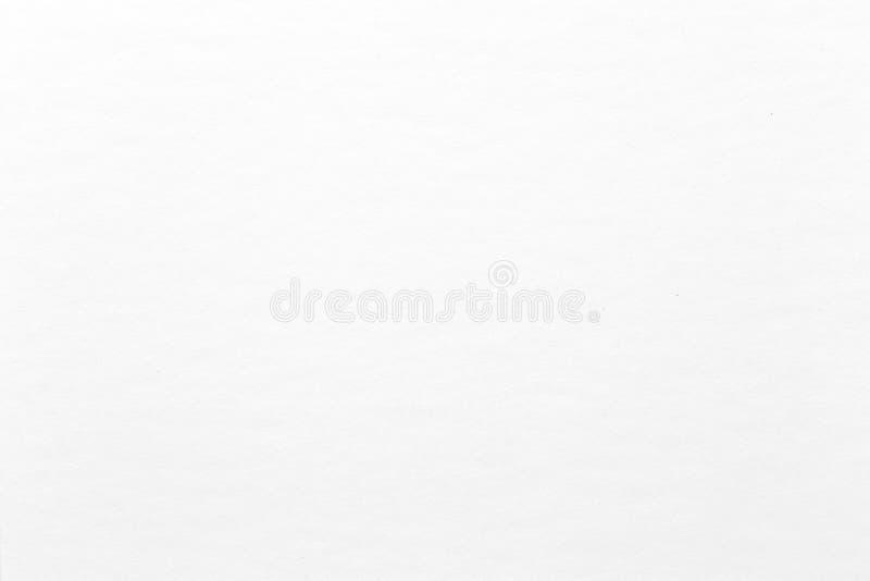 Textura ou fundo branco do papel da aquarela Textura de alta qualidade em extremamente de alta resolução imagens de stock royalty free