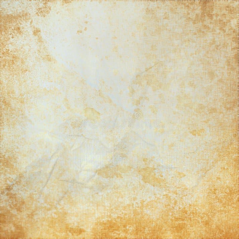 Textura ou fundo branco do pergaminho do grunge ilustração royalty free