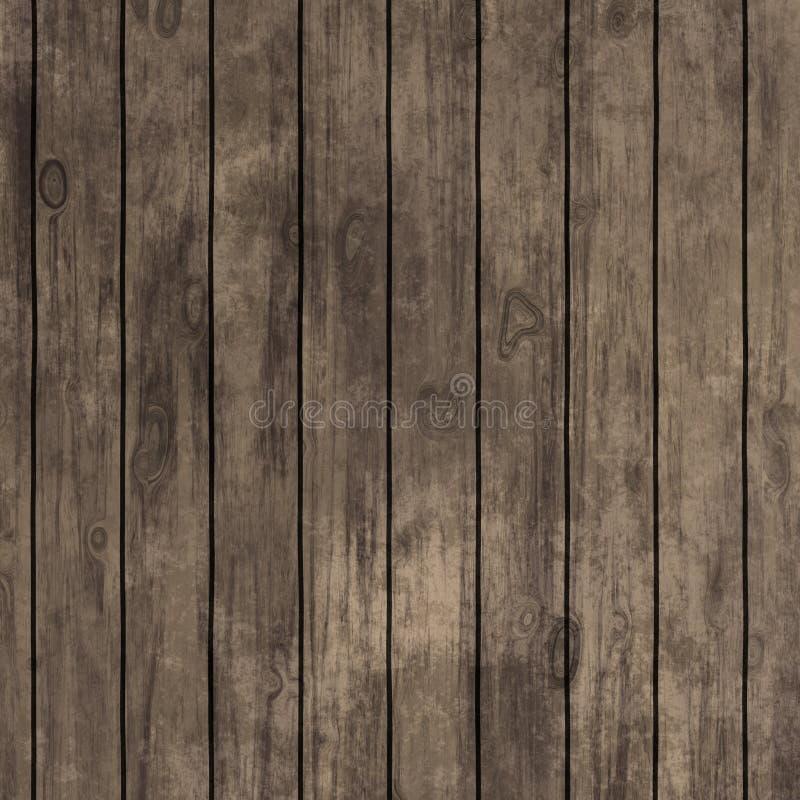 Textura ou fundo de madeira do carvalho velho do grunge