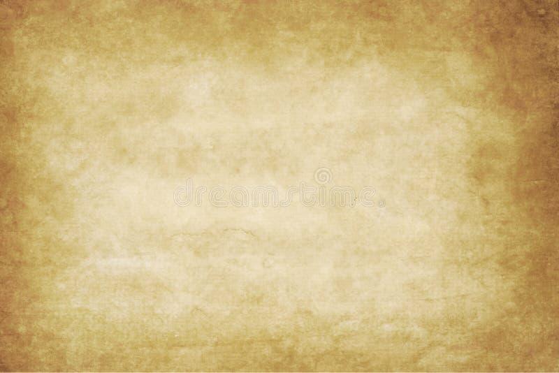 Textura ou fundo de papel velho com vinheta escura b imagem de stock royalty free