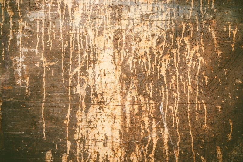 Textura oxidada com pintura do gotejamento foto de stock royalty free