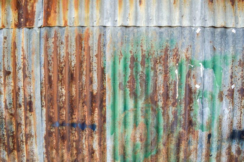 Textura oxidada da parede fotografia de stock