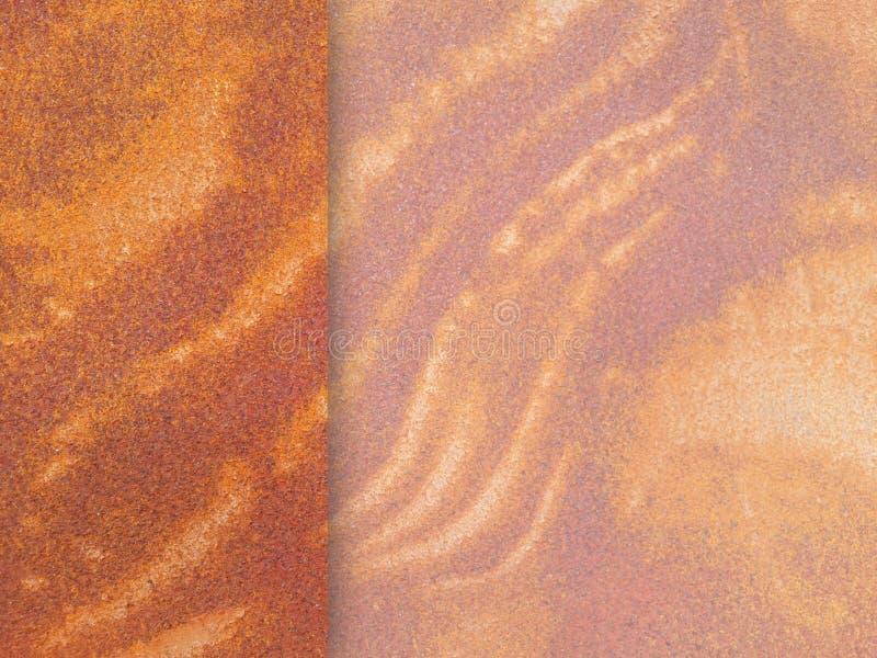Textura oxidada da parede fotos de stock
