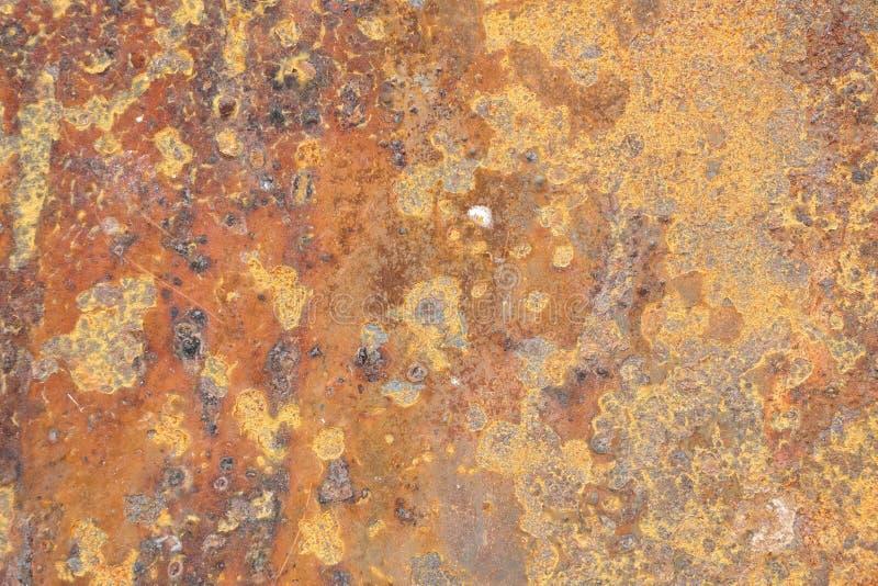 Textura oxidada da parede para o fundo fotografia de stock