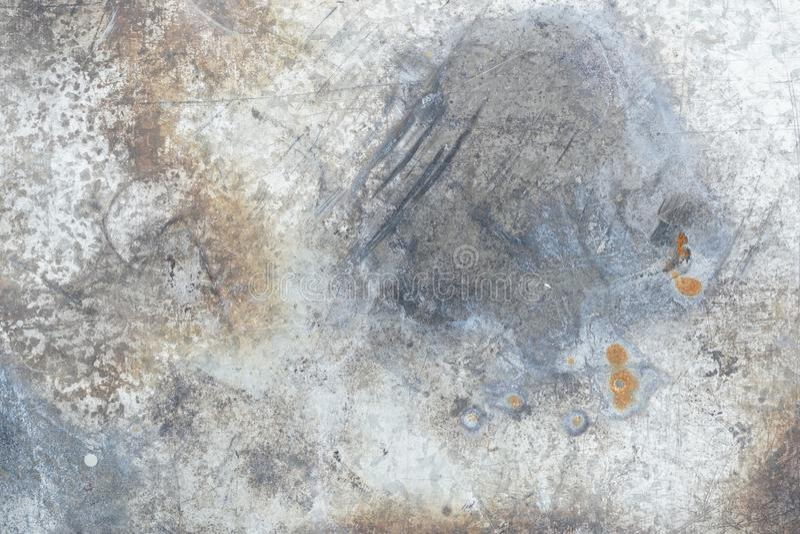 Textura oxidada da parede para o fundo fotografia de stock royalty free