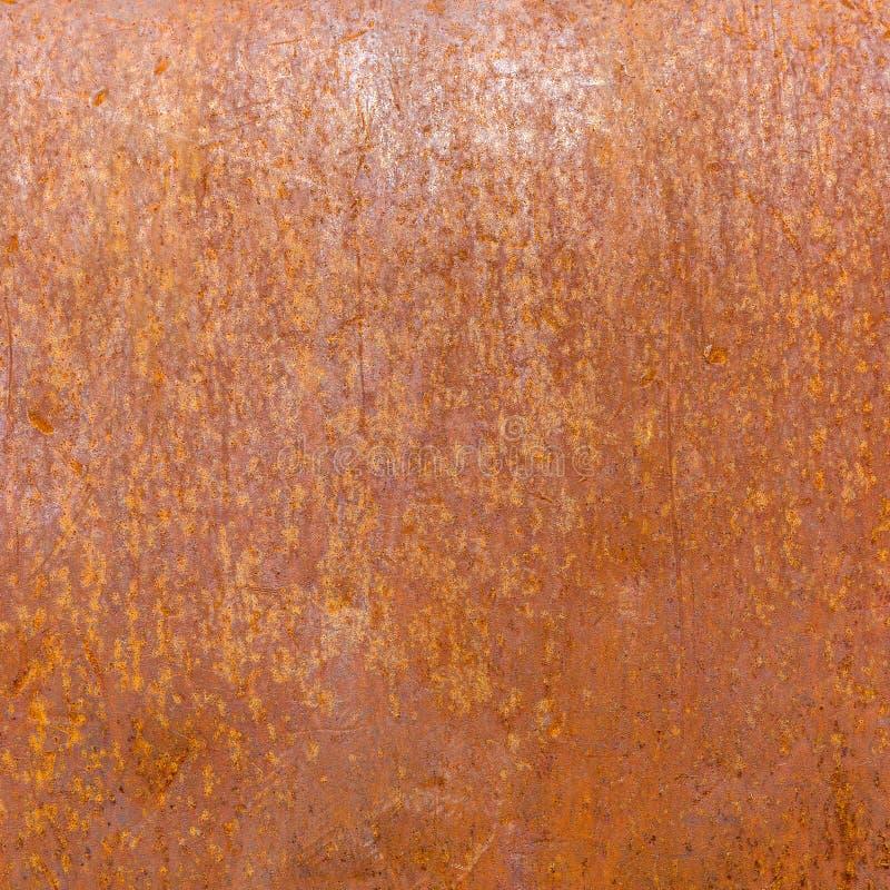 Textura oxidada da placa do fundo do metal do ferro fotografia de stock
