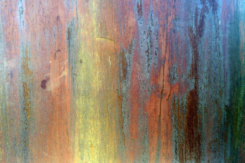 Textura oxidada del metal de Grunge imagen de archivo