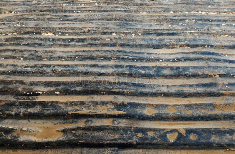 Textura oxidada del metal en el camión viejo fotos de archivo