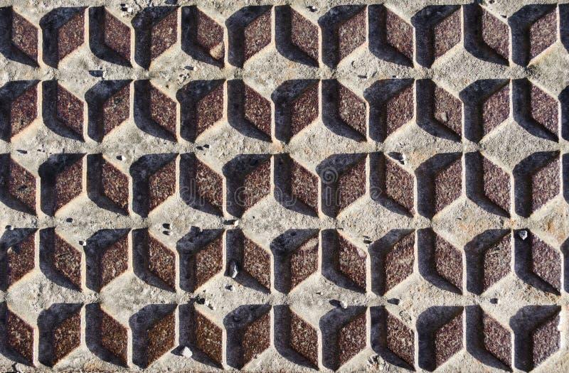 Textura oxidada do diamante do metal imagens de stock royalty free