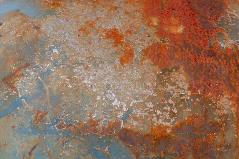 Textura oxidada do fundo do metal da sujeira do Grunge fotos de stock