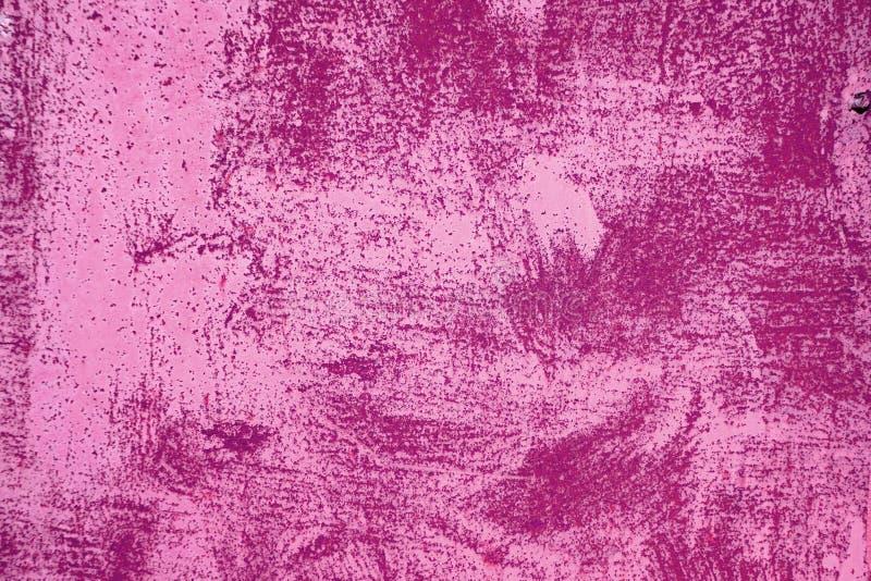 Textura oxidada Pintura rasguñada punky rosado fotografía de archivo libre de regalías
