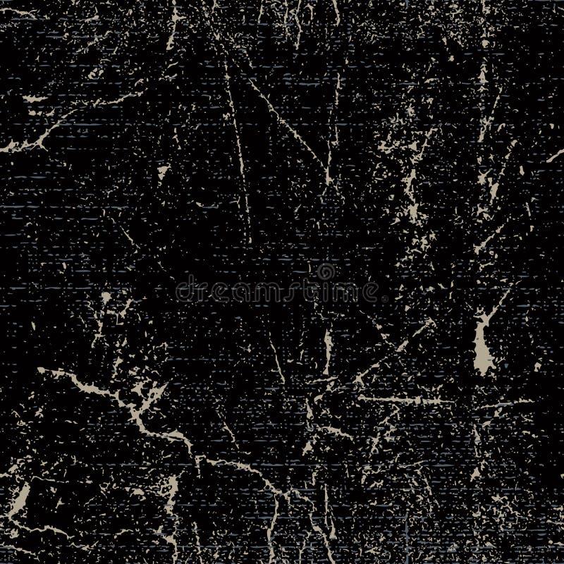 Textura oxidada rasguñada inconsútil del grunge, fondo del vector libre illustration