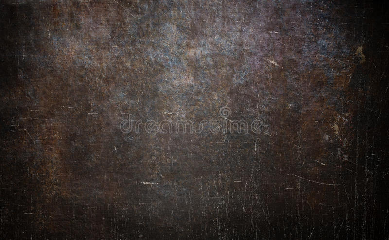 Textura oxidada velha do metal fotografia de stock royalty free