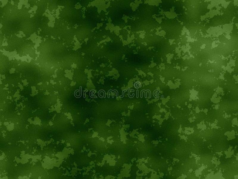 Textura oxidada - verde ilustração do vetor