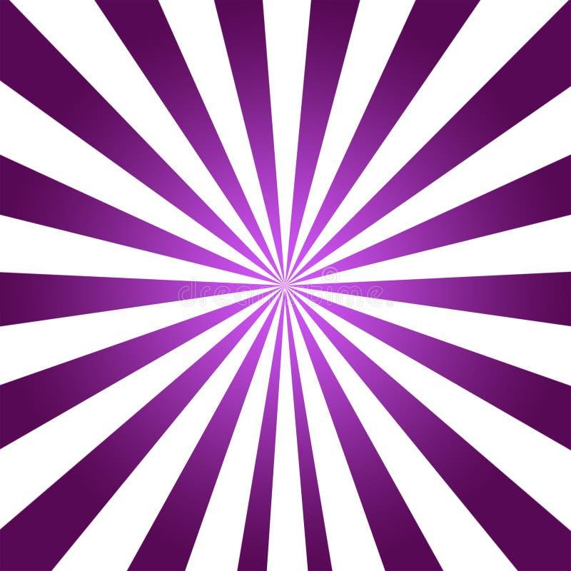 Textura púrpura del fondo con el foco en blanco ilustración del vector