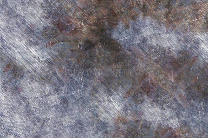 Textura para los vehículos blindados: acero, superficie de metal con los rasguños Textura hermosa para los gráficos militares imagen de archivo