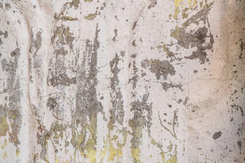 Textura Pared Un fondo con los rasguños y las grietas fotografía de archivo libre de regalías