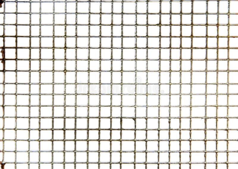 Textura pequena do engranzamento de fio fotografia de stock royalty free