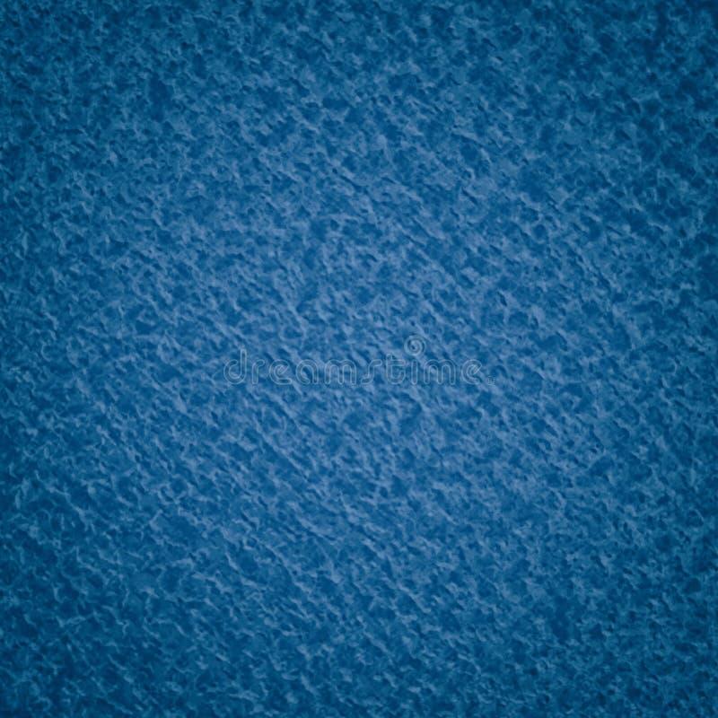 Textura pintada azul do metal no projeto abstrato do fundo, lotes do grunge picado do close up na ilustração industrial metálica  ilustração stock