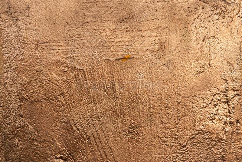 Textura pintada de piedra de cobre outside-1 foto de archivo