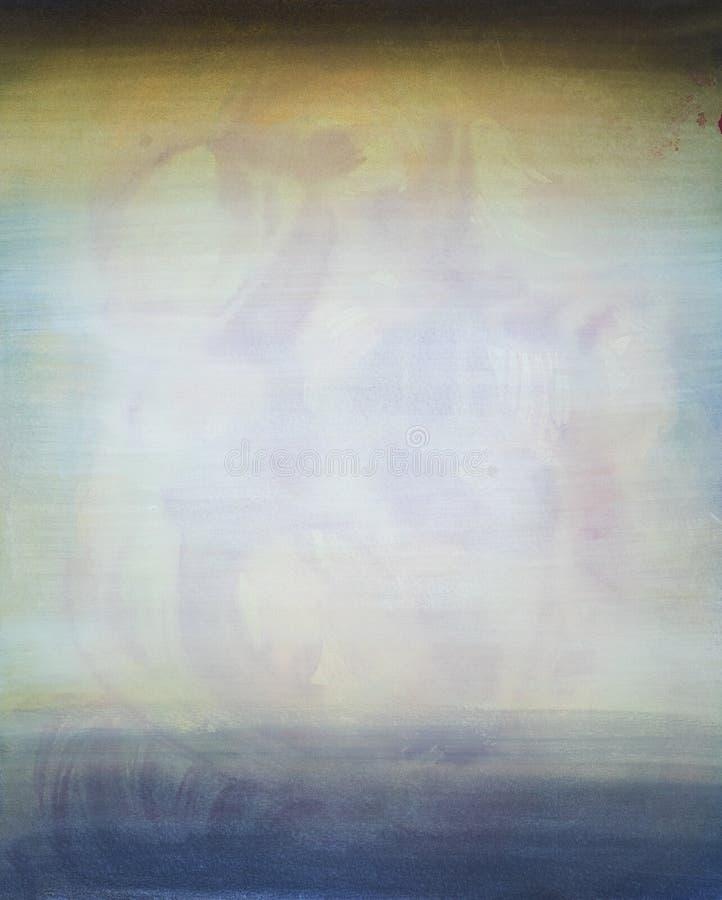 Textura pintada a mano de la tinta fotografía de archivo