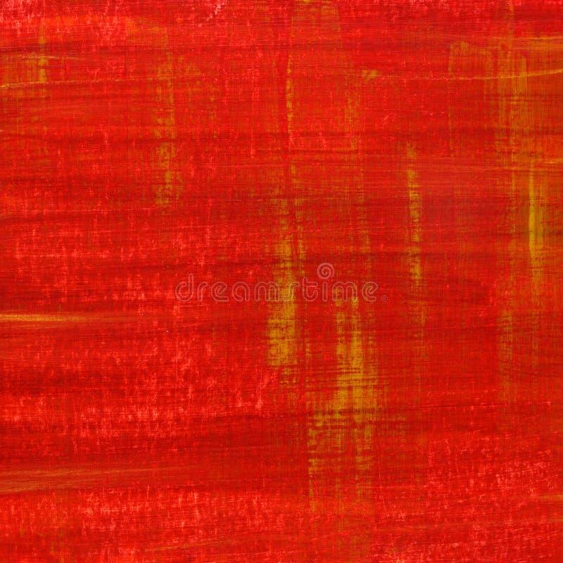 Textura pintada y rasguñada del grunge rojo fotos de archivo libres de regalías