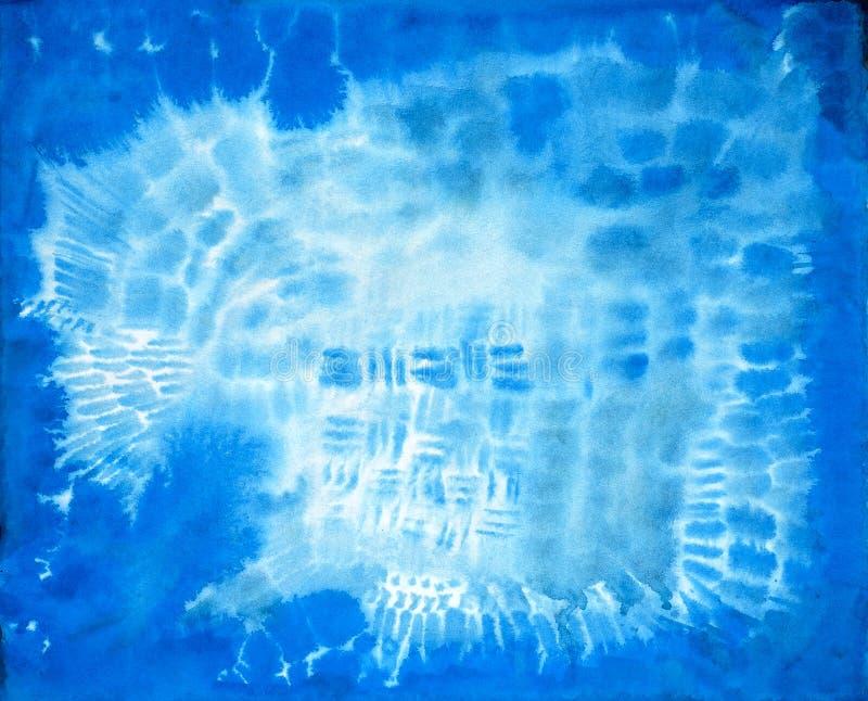 Textura pintado à mão da tinta fotografia de stock