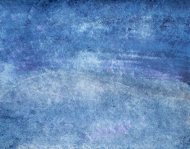 Textura pintado à mão da tinta foto de stock
