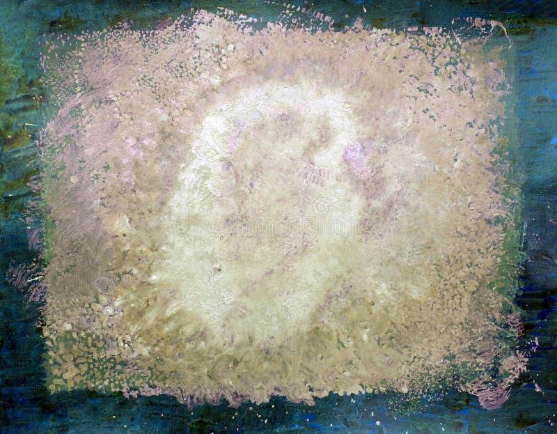 Textura pintado à mão da tinta imagens de stock